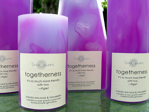 togetherness candles